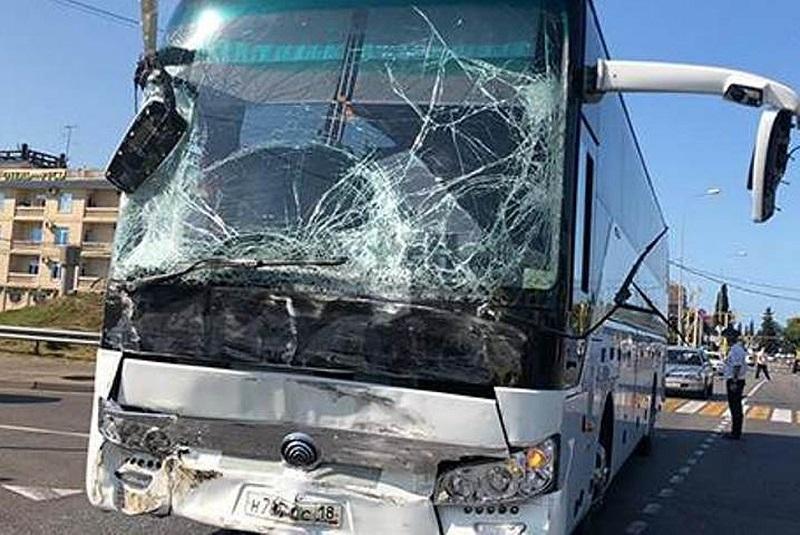 В сети появилось видео ДТП с 26 пострадавшими в Сочи