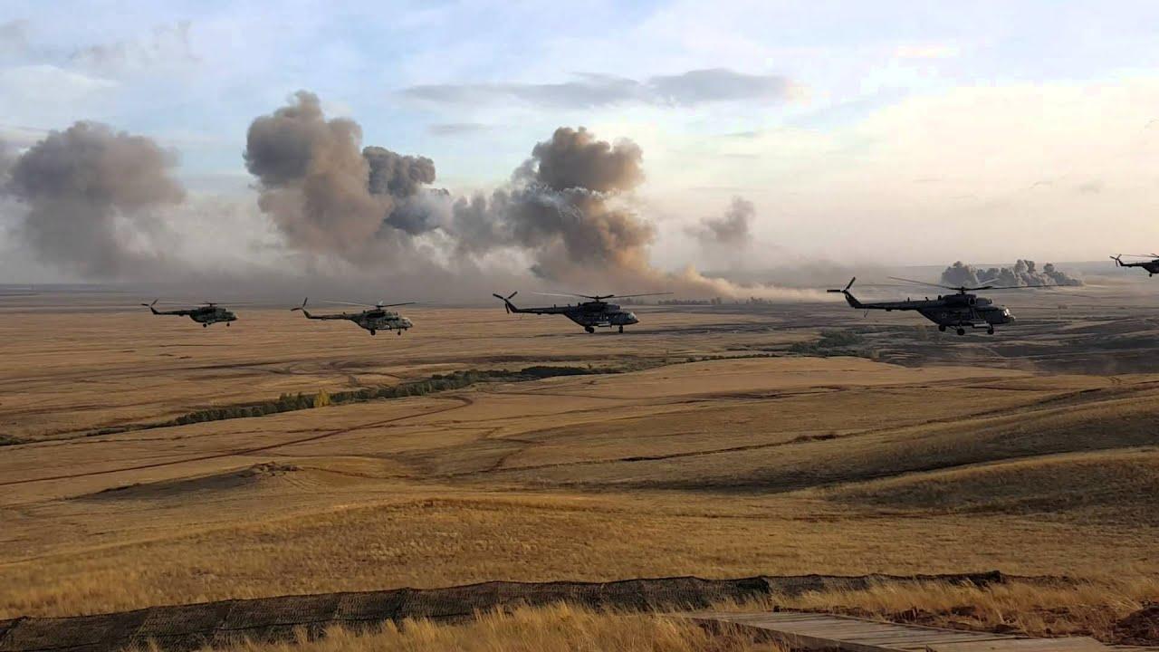 Российские военные вертолеты появились на границе Армении и Турции