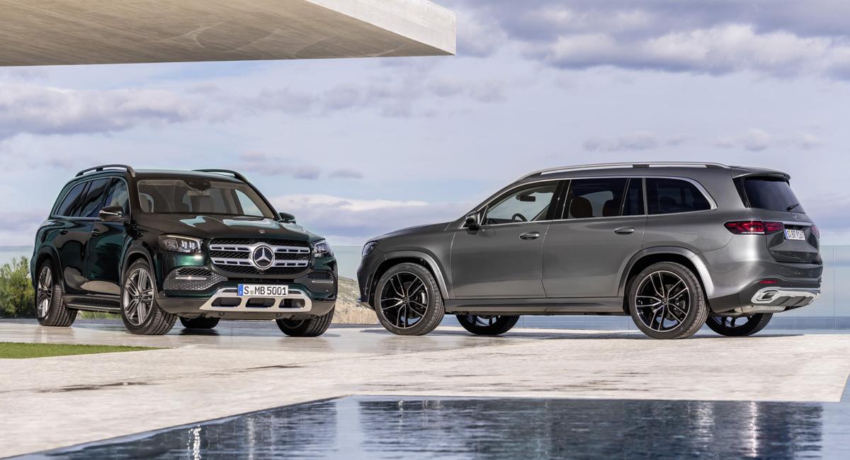 Новый Mercedes GLS: объявлены цены в России