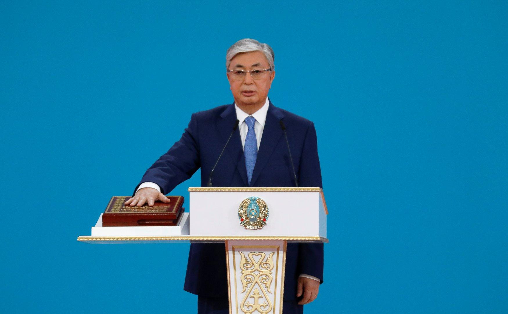 Токаев официально вступил в должность главы Казахстана