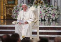 В молитве «Отче наш» Папа Римский заменил слова
