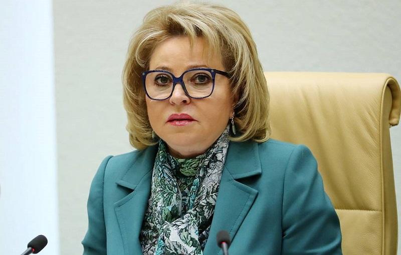 Матвиенко назвала срок отмены коронавирусных ограничений