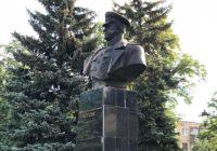 Бюст Жукова восстановили в Харькове