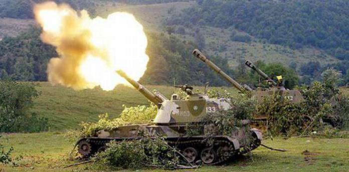 ДНР сообщила о скоплении тяжелой артиллерии ВСУ под Горловкой