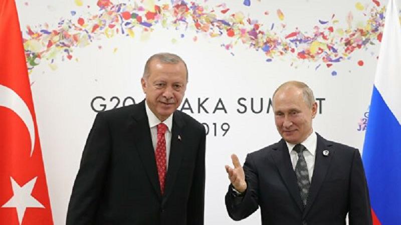 Кремль анонсировал встречу Путина и Эрдогана