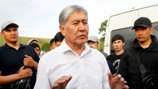 Бывший президент Киргизии Атамбаев арестован до 26 августа