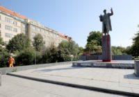 В Праге неизвестные облили краской памятник маршалу Коневу