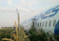 Уголовное дело возбуждено после жесткой посадки А321 в Подмосковье