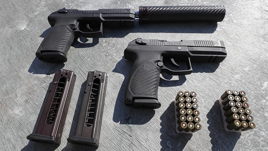 Новый российский пистолет «Удав» прошел войсковые испытания