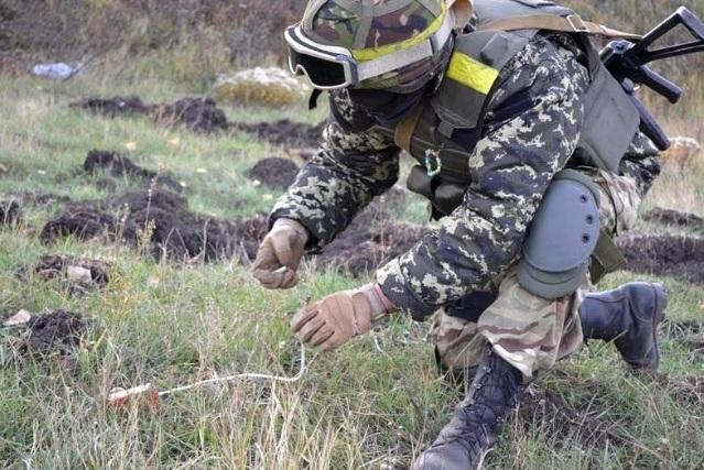 ВСУ заминировали территорию в 150 метрах от участка разведения сил в Петровском