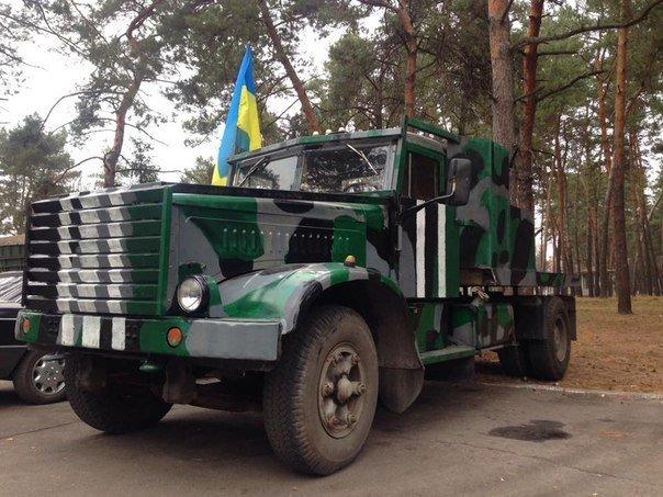 В Донбассе «Урал» с боевиками ВСУ подорвался на украинских минах