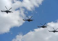 Российские вертолеты сели на бывшей базе США в Сирии
