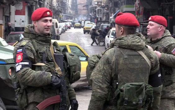 сирия россия военная полиция