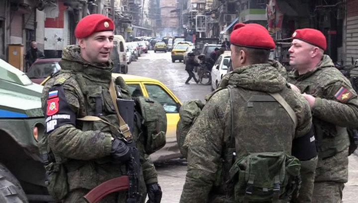 Российские военные полицейские на учениях испытают новое вооружение
