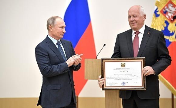 Путин тайно присвоил главе «Ростеха» Сергею Чемезову звание Героя России