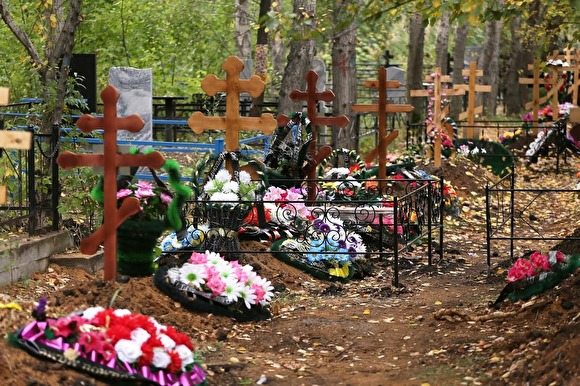 На Хованском кладбище опять произошел конфликт