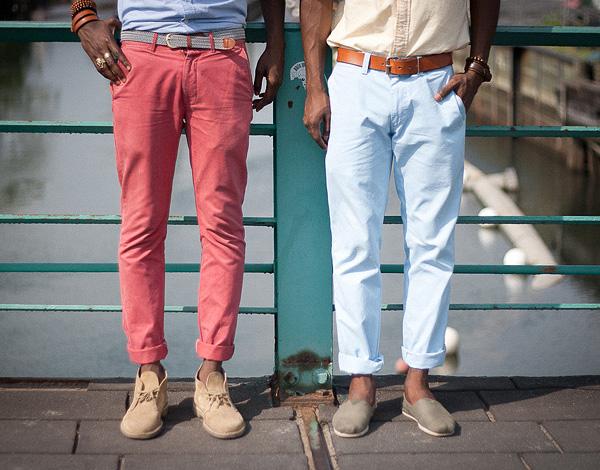 Как делать подвороты на джинсах, штанах и брюках