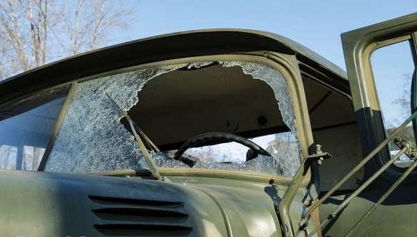 Украинские националисты взорвали грузовик с солдатами ВСУ