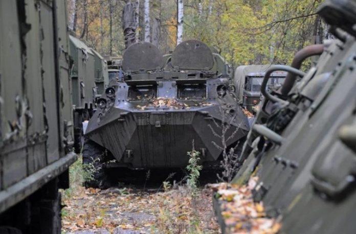 В военной части под Львовом обнаружена недостача бронетанковой техники на 9 млн гривен
