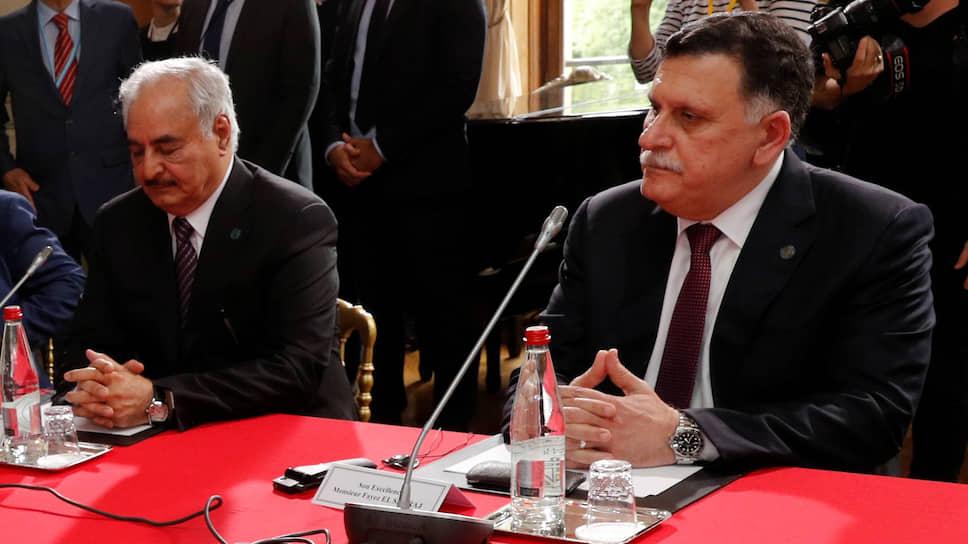 Фельдмаршал Хафтар и глава правительства Ливии встретятся в Москве