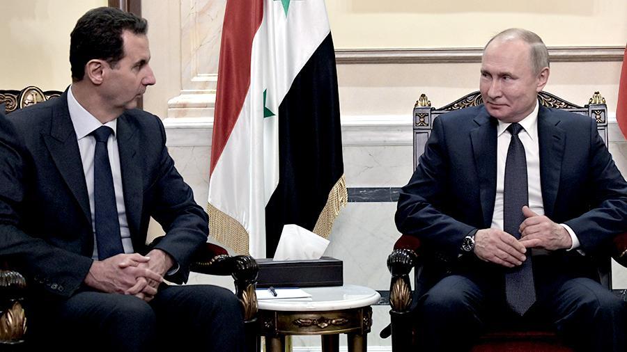 Путин посоветовал Асаду пригласить Трампа в Дамаск