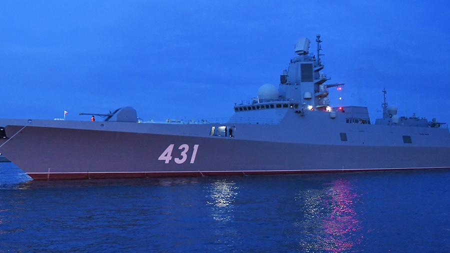 Фрегат «Адмирал Касатонов» испытал ЗРК «Полимент-Редут» в Баренцевом море