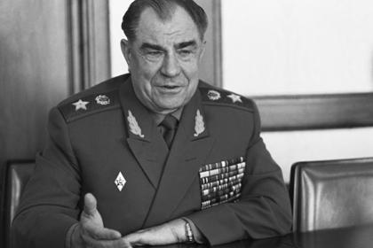 Умер маршал Язов
