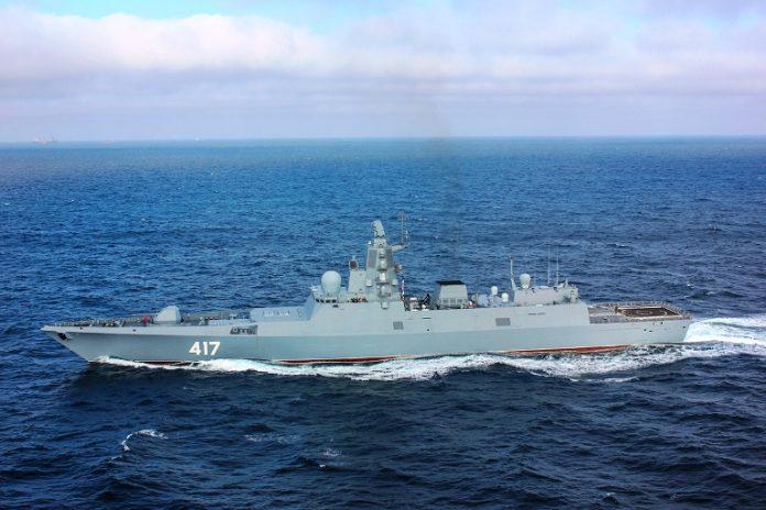 Россия развернёт в Чёрном море новейшие фрегаты «адмиральской серии»