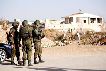 Российские военные вошли в город на линии фронта в Идлибе
