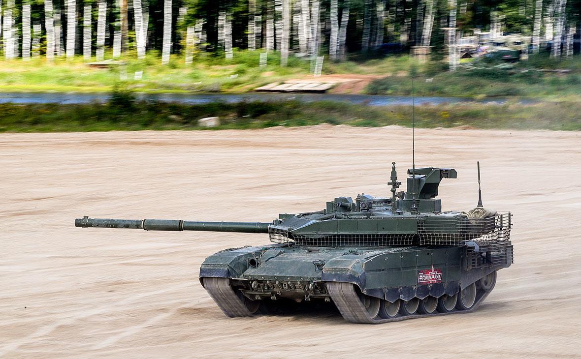 Первая партия танков Т-90М «Прорыв» поступила в армию