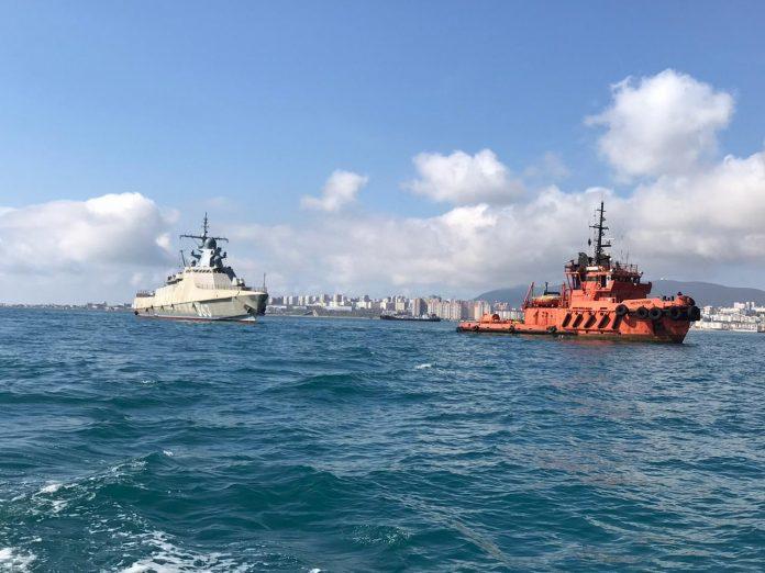 Очередной корабль проекта 22160 доставлен в Новороссийск