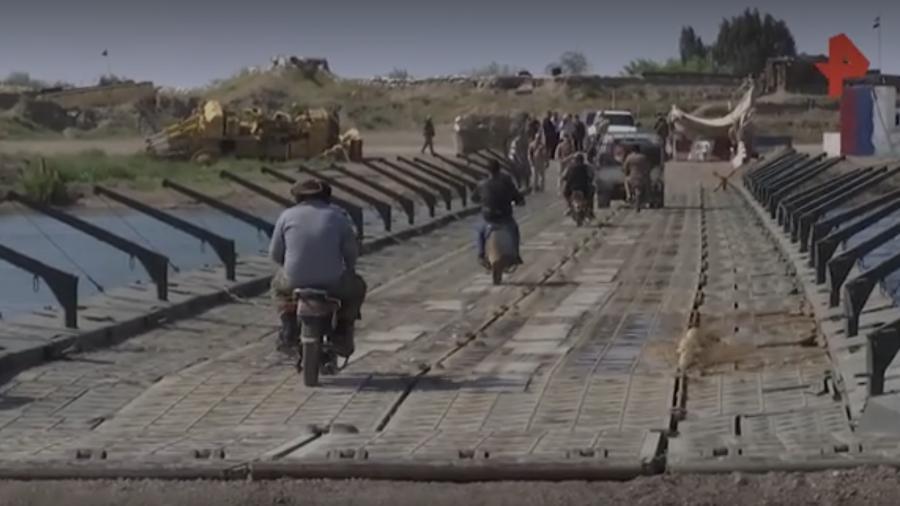 Русский мост в Дейр-эз-Зоре: как наши помогают Сирии?