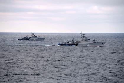Российский флот начал отслеживать действия кораблей НАТО в Баренцевом море