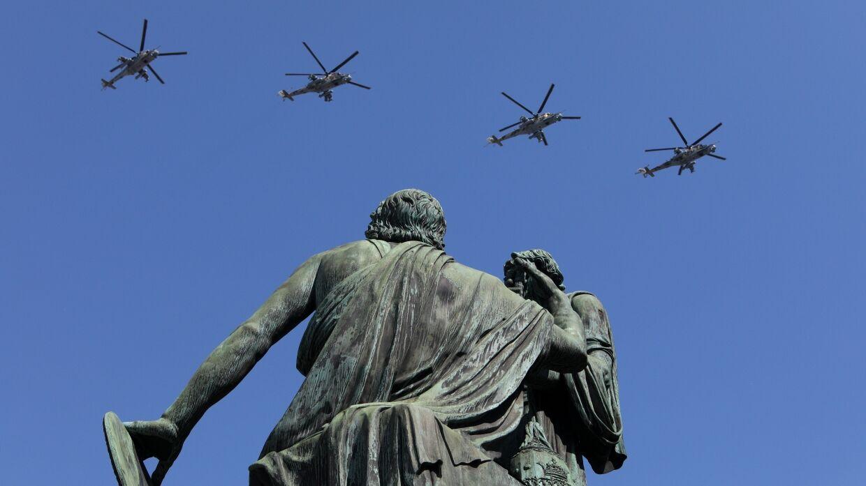 В Москве прошла репетиция воздушного парада Победы