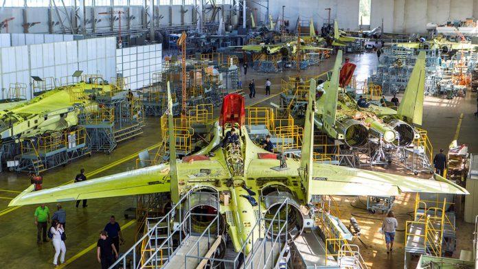 В Хабаровском крае началось производство истребителей Су-35 для ВВС Египта