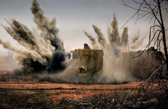 ВСУ обстреляли окрестности Донецка из тяжелой артиллерии