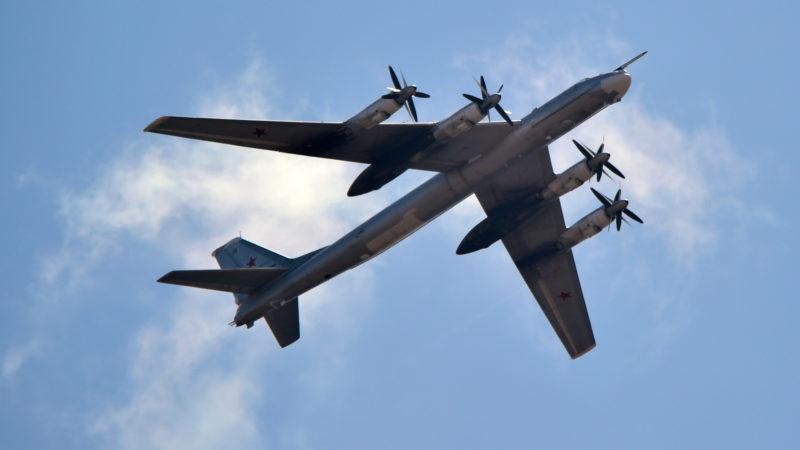 Назло США: российские бомбардировщики провели полеты в районе Чукотки