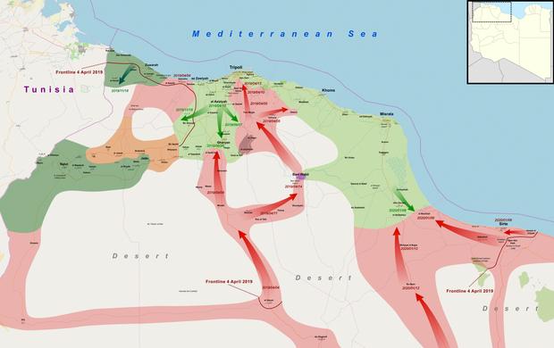 США заявили о двух тысячах бойцов ЧВК Вагнера в Ливии