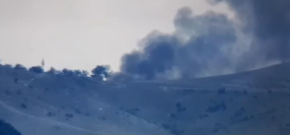 Армения подбила азербайджанский танк