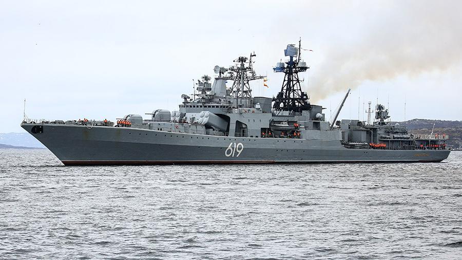 Корабли Северного флота отстрелялись «Кинжалами»