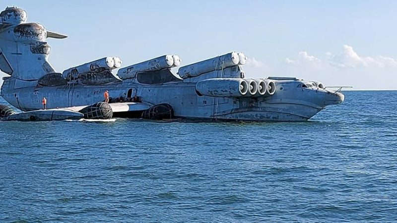 «Каспийского монстра» отправят в Дербент