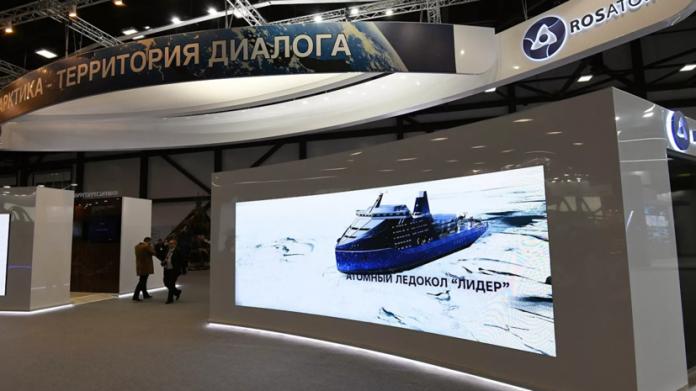 В России заложен самый мощный в мире ледокол