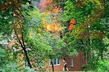 Взрыв прогремел в жилом доме в Москве