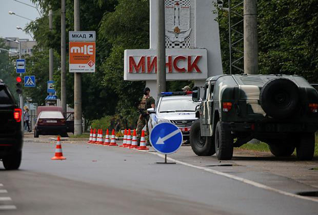 Аресты и автоматчики. В Минске снова начались массовые задержания на протестах