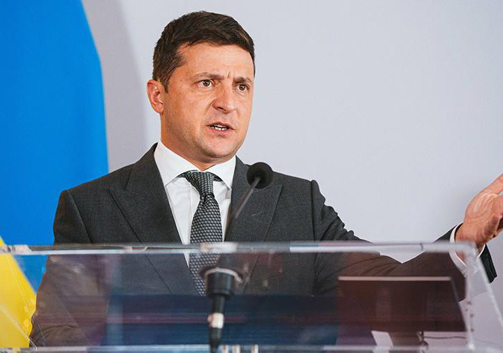 Зеленский заявил о прекращении эскалации на украинской границе