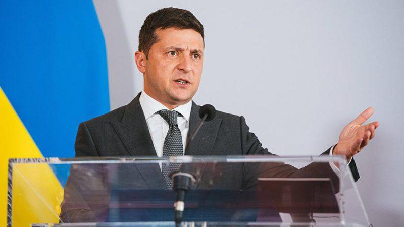 Зеленский подписал указ о «деоккупации» Крыма