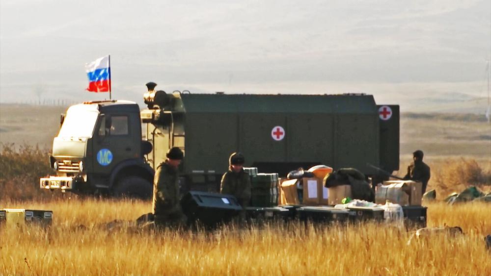 Минобороны России развернуло в Карабахе полевой госпиталь