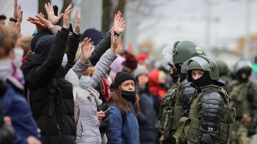 В Минске опять беспорядки: задержаны более 300 человек