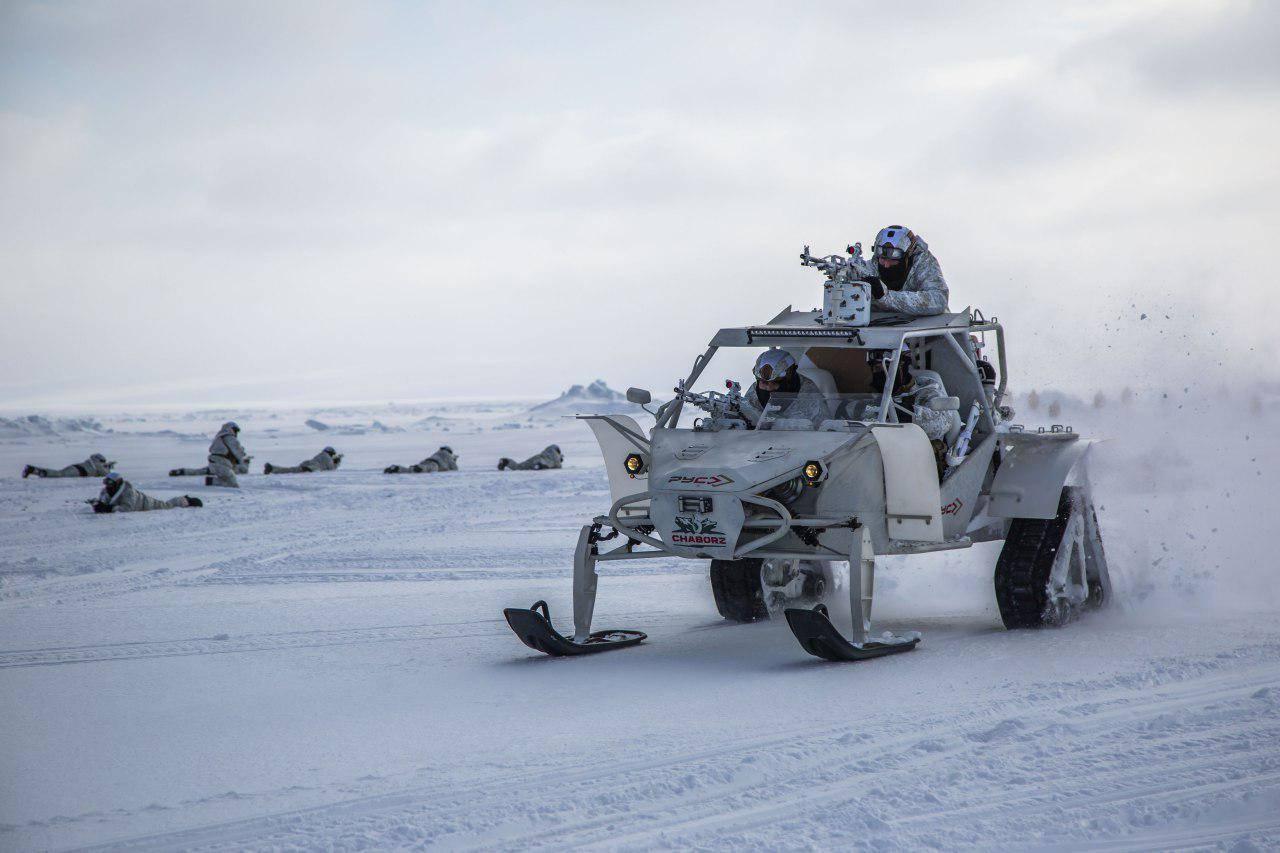 Россия возобновила испытания оружия в условиях Арктики
