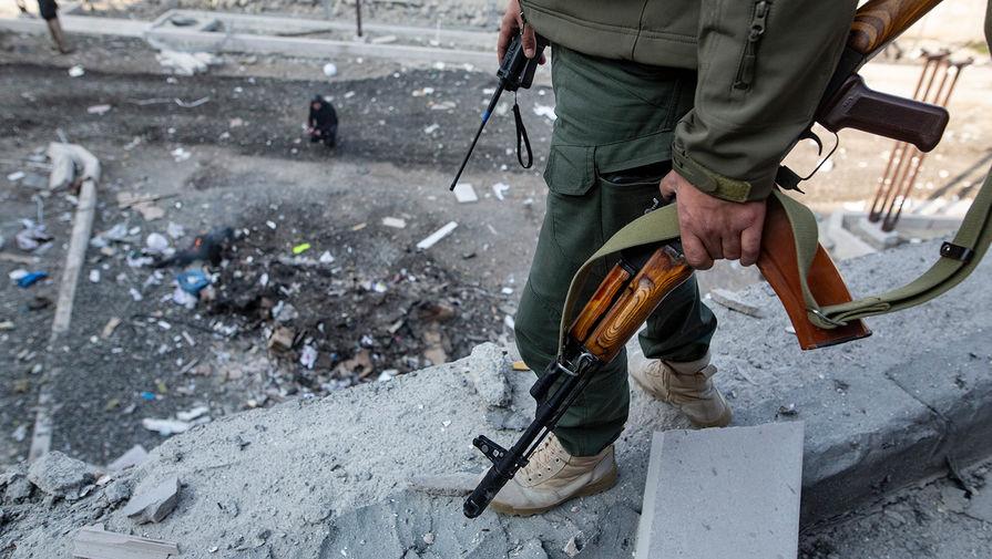 При взрыве в Карабахе погибли двое военных НКР